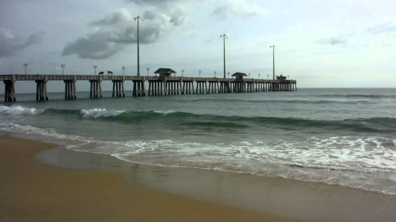 Beautiful morning at jennette 39 s pier in nags head nc for Jennette s fishing pier