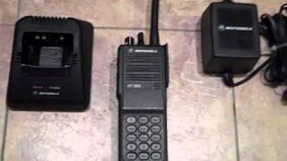 Motorola HT1000 VHF Radio Package