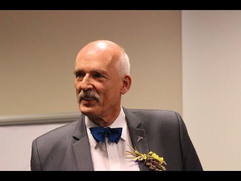 Janusz Korwin Mikke w Opolu o Unii Europejskiej