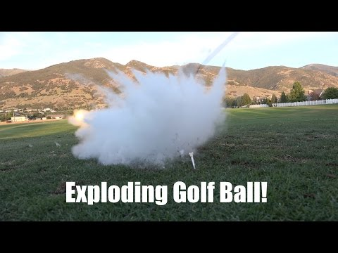 What's inside an Exploding Golf Ball?