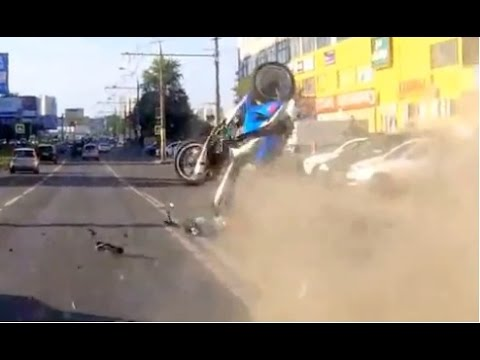 Compilation MOTO crash July 2014