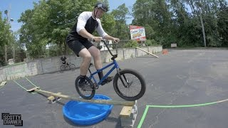 BMX OBSTACLE COURSE!