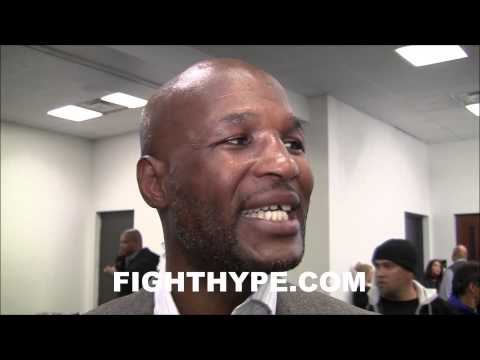 BERNARD HOPKINS GOES OFF ON BADGERING BY MEDIA SCHOOLS THEM ON TRICKNOLOGY