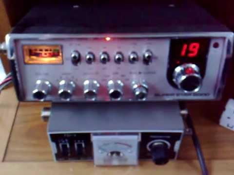 CB-Funk - CB-Radio Skip DXing - 2AT509, Larry from Wisconsin, USA [10-28-12]