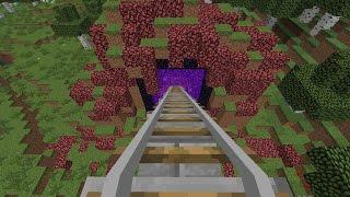 Minecraft: Đoàn tàu dài nhất phần 1 (part 1)