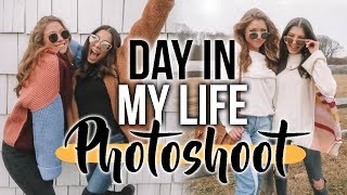Day In My Life: BTS PHOTOSHOOT WITH LEANNA!!