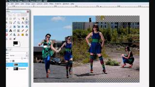 Gimp Tutorial : Photo Editing BLENDING Images