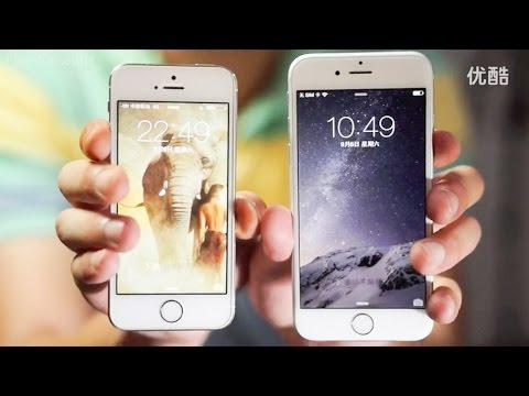 iPhone 6 Early First Hands-On (English)