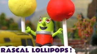 Funny Funlings Rascal Play Doh Lollipops Prank Story with Thomas and Friends