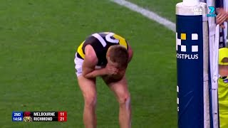 Townsend makes a meal of it - Round 5, 2018 - AFL