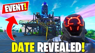 *NEW* Season X LIVE Event Date Revealed Fortnite + Scientist & Visitor Rocket Built...