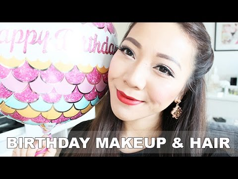 My Birthday Makeup & Hair