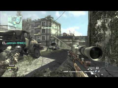 Modern warfare 3 - La hora del sniper #6 (Dudando de sniper o simplemente jugar)
