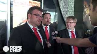 SwearNet: The Movie (2014) première interviews