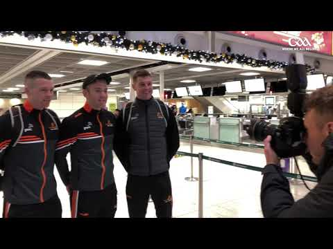 PwC All-Stars tour to Abu Dhabi departs Dublin Airport
