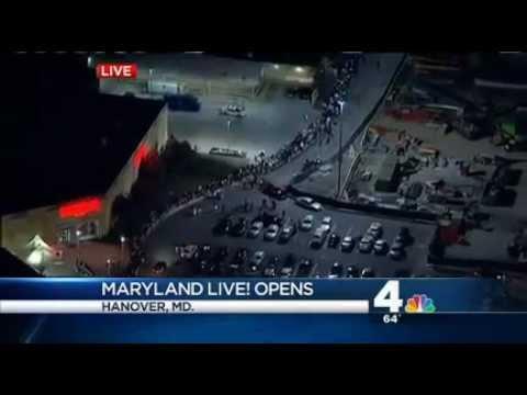 Grand Opening of Maryland Live! Casino in Hanover, MD - NBC's Shomari Stone Reports