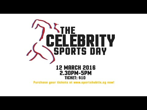 The Celebrity Sports Day is here!