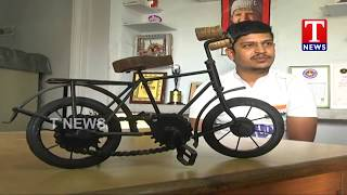 Sandeep Reddy The Longest Cycle Rider | Pedal to Preserve the Environment  Telugu