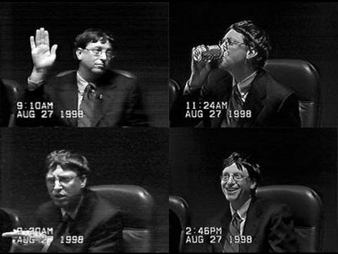 Bill Gates: Microsoft Antitrust Appeal Ruling Reaction (2001)