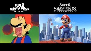 Super Smash Bros. Ultimate Intro - Animated vs. Official