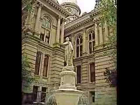 Lafayette Indiana Tour, Wabash, Purdue Block, Court House