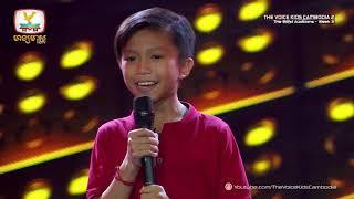 ???? ??????? - Fallin (Blind Audition Week 3 | The Voice Kids Cambodia Season 2)