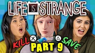MURDER OR MERCY?!?! | LIFE IS STRANGE - Part 9 (React: Gaming)