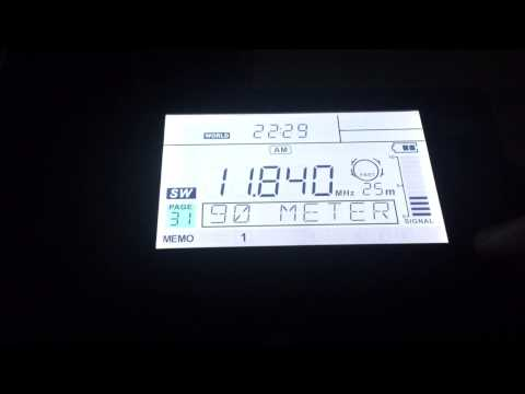 Radio Habana Cuba - 11840 kHz