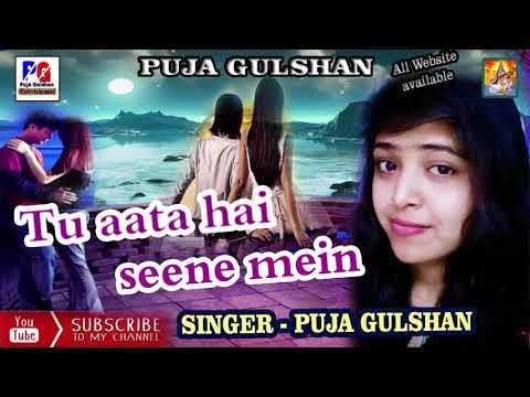 Tu aata hai seene mein || Cover Bollywood Songs|| Puja Gulshan 2018