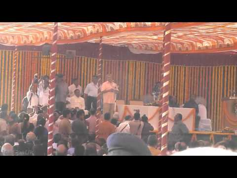 Chief Minister of Goa Manohar Parrikar - Oath and speech