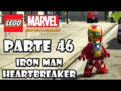 LEGO Marvel Super Heroes Guía - Desbloqueo de Personajes - Parte 46 - IRON MAN HEARTBREAKER