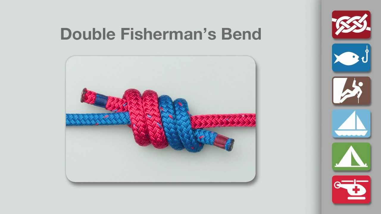 How to Tie a Fishermans Knot How to Tie a Fishermans Knot new foto