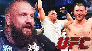 NATE DIAZ IS BACK! True Geordie Reacts to UFC 241