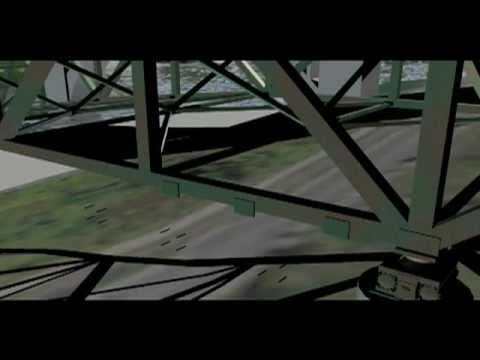 35W Bridge Collapse Visualization