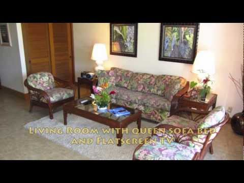 Beautiful Kauai Vacation Rental at the Beachfront Kiahuna Resort #303 at top rated Poipu Beach