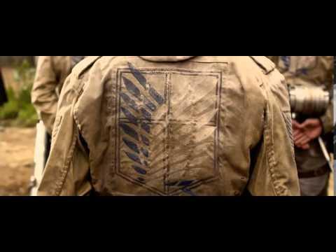 Атака Титанов  Фильм первый  Жестокий мир   Русский Трейлер 2015