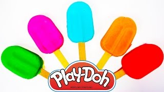 Play Doh Ice Cream Learn Numbers and Colors for Toddlers Children