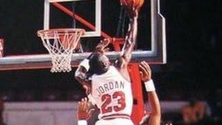 Michael Jordan vs Kareem Abdul-Jabbar's sky hook