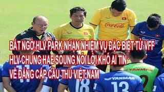 Bất Ngờ HLV Park Nhận Nhiệm Vụ Đặc Biệt Từ VFF, HLV Chung Hae Soung Nói Điều Khó Tin Về Cầu Thủ Việt