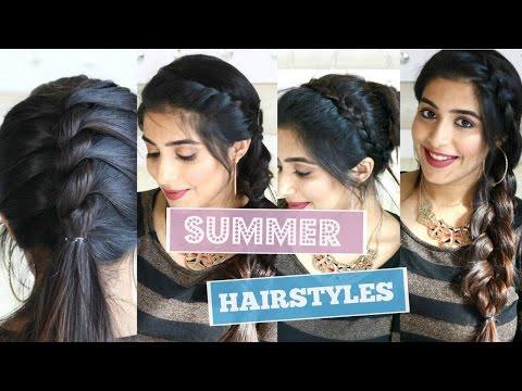 4 Cute Summer Hairstyles   Jaisa