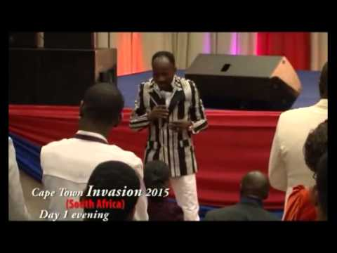 #Apostle Johnson Suleman(Prof) #CapeTown, South Africa Invasion 2015