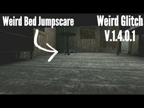 Weird Bed Jumpscare Glitch in Granny-Version:1.4