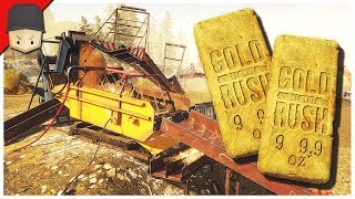 MILLION DOLLAR CLEAN UP! - GOLD RUSH : The Game