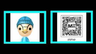 The Best Mii QR Codes!
