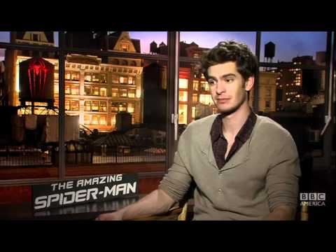 Spiderman's Andrew Gar... Andrew Garfield