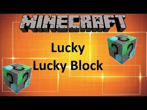 MINECRAFT: LUCKY LUCKY BLOCK MOD (1.8 MOD SHOWCASE)