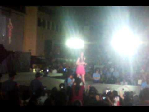 Janella Salvador on Albay Astrodome (MAGAYON FESTIVAL)