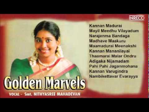 Carnatic Vocal | Golden Marvels | S. Nithyasree Mahadevan | Jukebox video