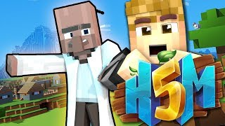 VILLAGER HUNT!   HOW TO MINECRAFT 5! (H5M) Ep.36