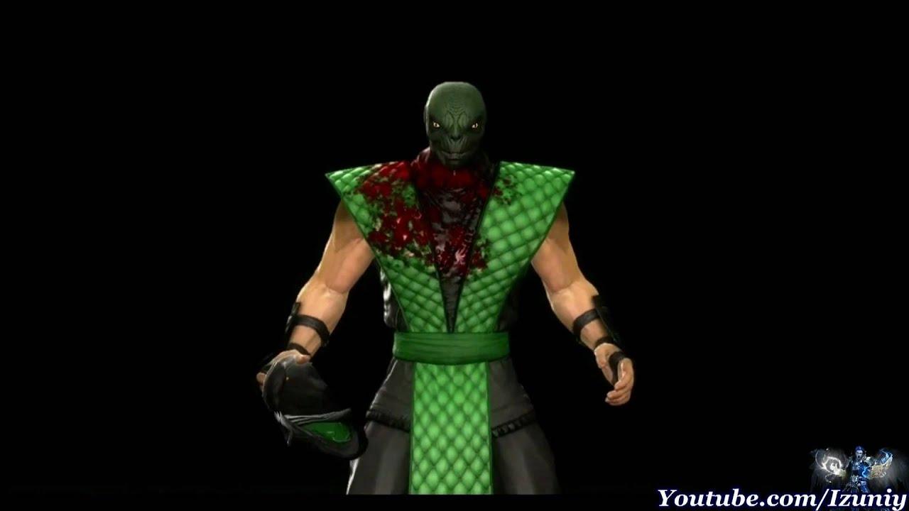Reptile mortal kombat costume - photo#9